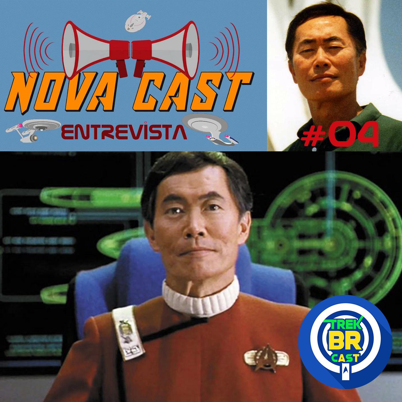 Geroge Takei (Sulu) - NovaCast Entrevista 4